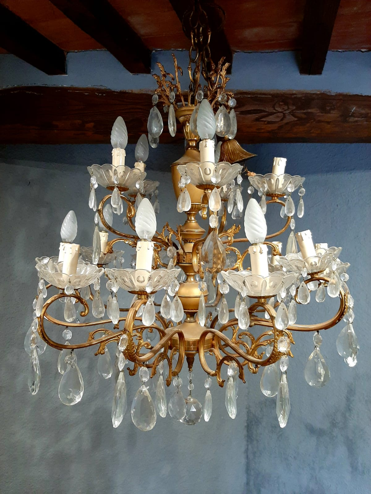 Lampadario in cristallo | Vintage Style Pitigliano