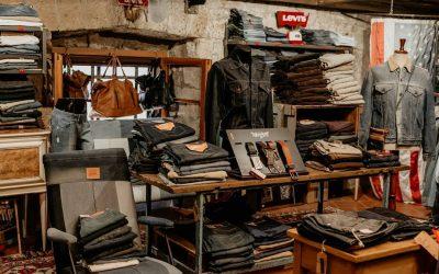 Reparto jeans Levi's
