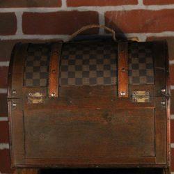 Portagioie vintage da viaggio