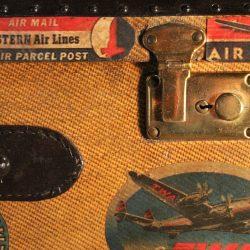 Valigia vintage americana